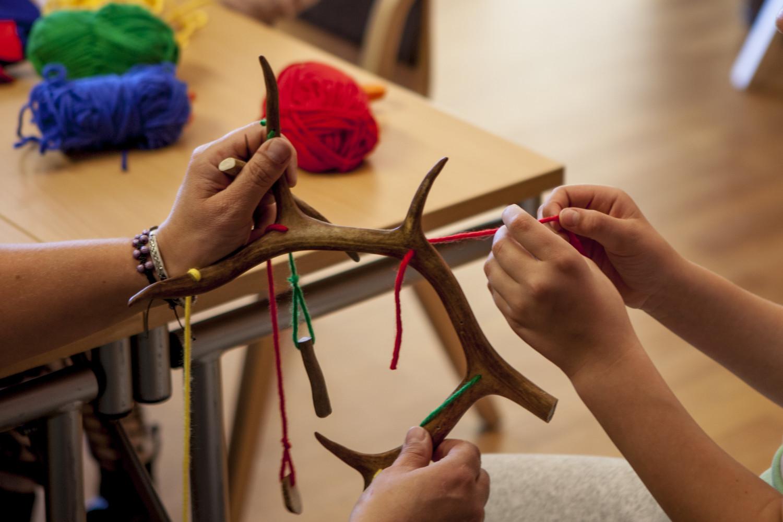 Workshops for barn og unge på Raasten rastah