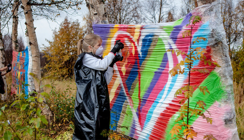 Utstilling «Ung samisk kunstner»