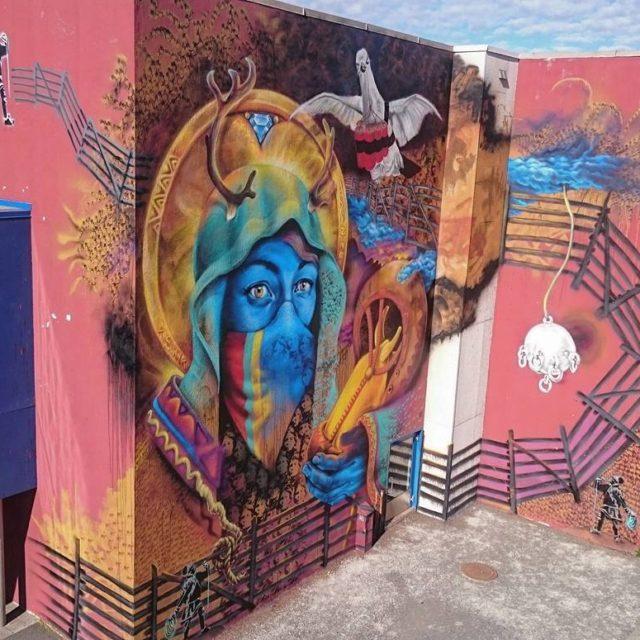 Graffiti med Anders Sunna